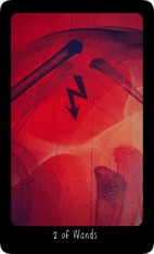 Two of Wands tarot card image