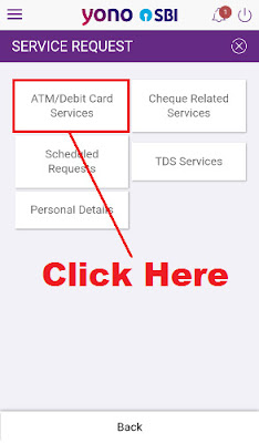 how to block sbi atm card from mobile
