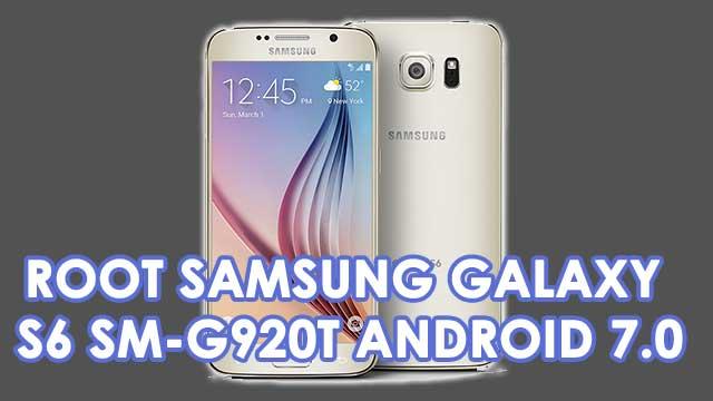 Cómo ROOTEAR Samsung Galaxy S6 SM-G920T [Android 7.0]