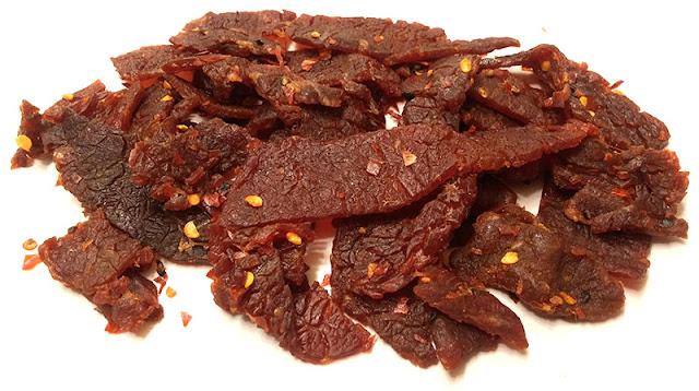 hot chili pepper jerky