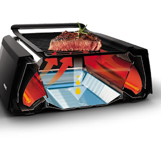 philips indoor infrared smokeless grill