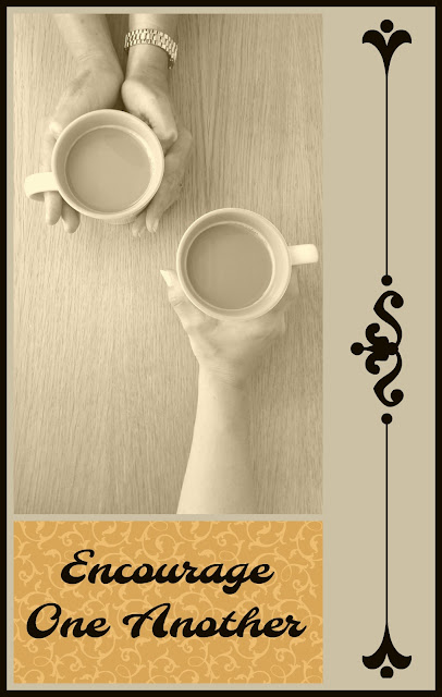 Encourage One Another on Homeschool Coffee Break @ kympossibleblog.blogspot.com