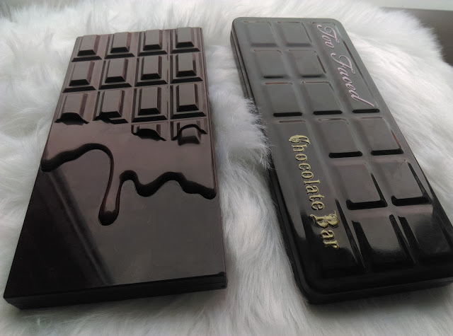 porównanie czekoladowych paletek: Too Faced  vs I heart Make Up