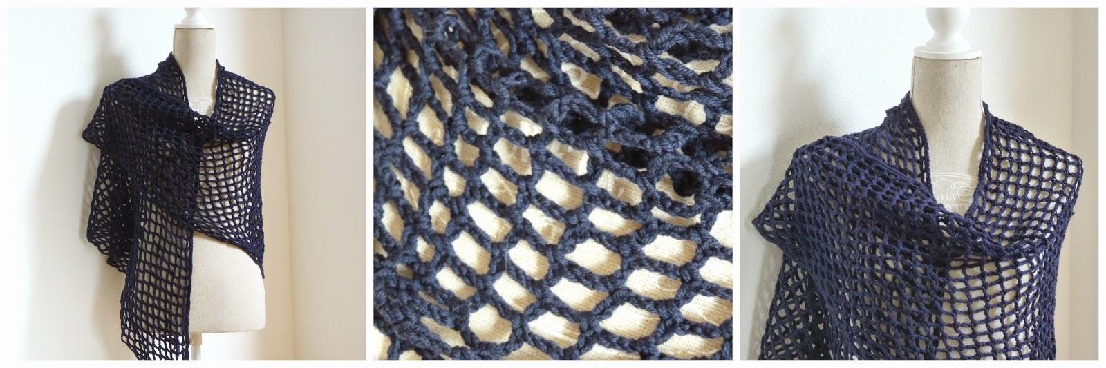 Haakjuf Eenvoudige Sjaal Van Lossen