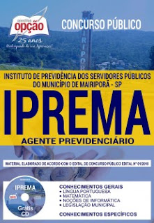 Apostila Concurso IPREMA 2018 PDF Download