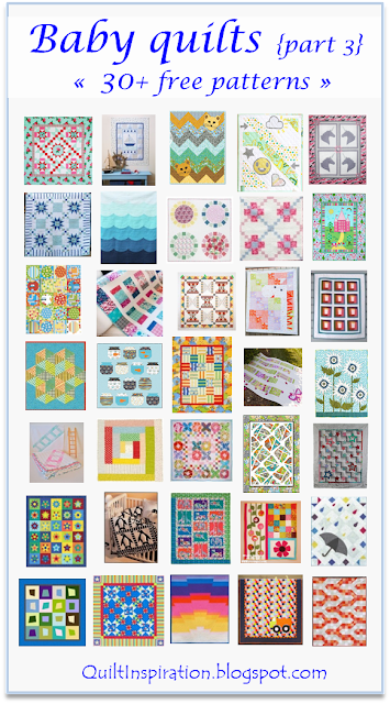 Quilt Inspiration Free Pattern Day Baby Quilts Part 3