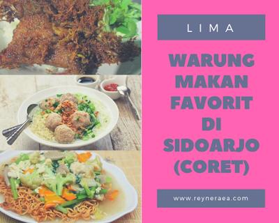 warung makan favorit di sidoarjo