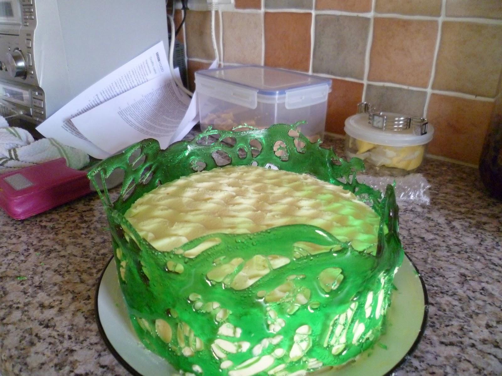Lorraine Pascale Graffiti Cake Recipe