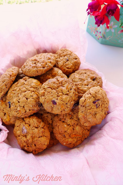 Crunchy Oatmeal-Carrot Cookies