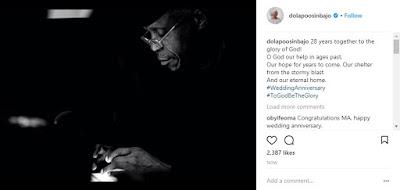 Osinbajo - 9JA NEWS: Yemi Osinbajo & wife Dolapo celebrate 28th Wedding anniversary