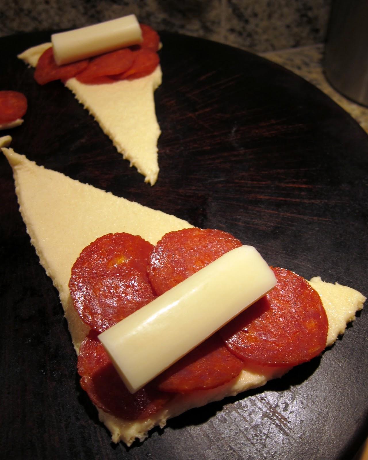 Crescent Pepperoni Roll Ups Plain Chicken