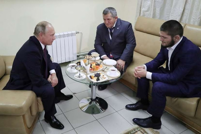 Putin 'Pasang Badan' untuk Khabib Normagomedov