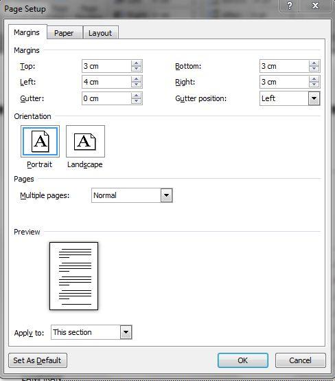 Liandikaachmad Menyunsun Format Laporan Pkl Dan Skripsi Dengan Menggunakan Microsoft Word