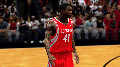 NBA 2K13 Thomas Robinson Cyberface Patch + Tattoos