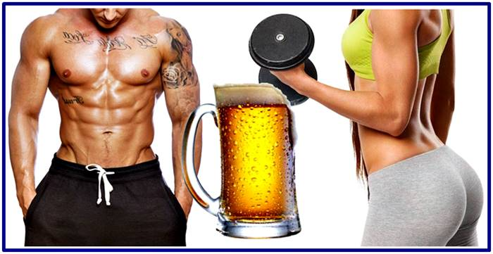 Avoid drinking too much beer after your workout
