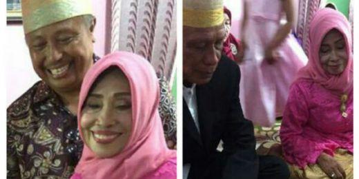 Nenek Masih Perawan Nikah di Usia 71 Tahun, Fotonya Jadi Viral