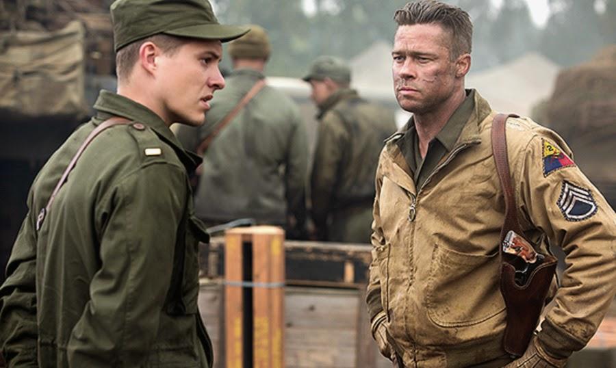 Brad Pitt în Fury