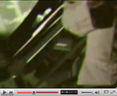 Torso fluttuante nel video dell'Apollo 20