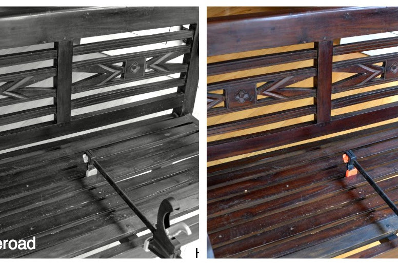 The Neighbor's Bench and CeCe Caldwell Paint