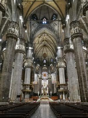 Duomo di Milano sisältä