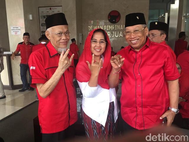 Berpose Metal, Pendiri PKS Yusuf Supendi Nyaleg dari PDIP