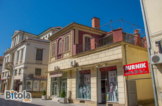 Architecture - Shirok Sokak street, Bitola