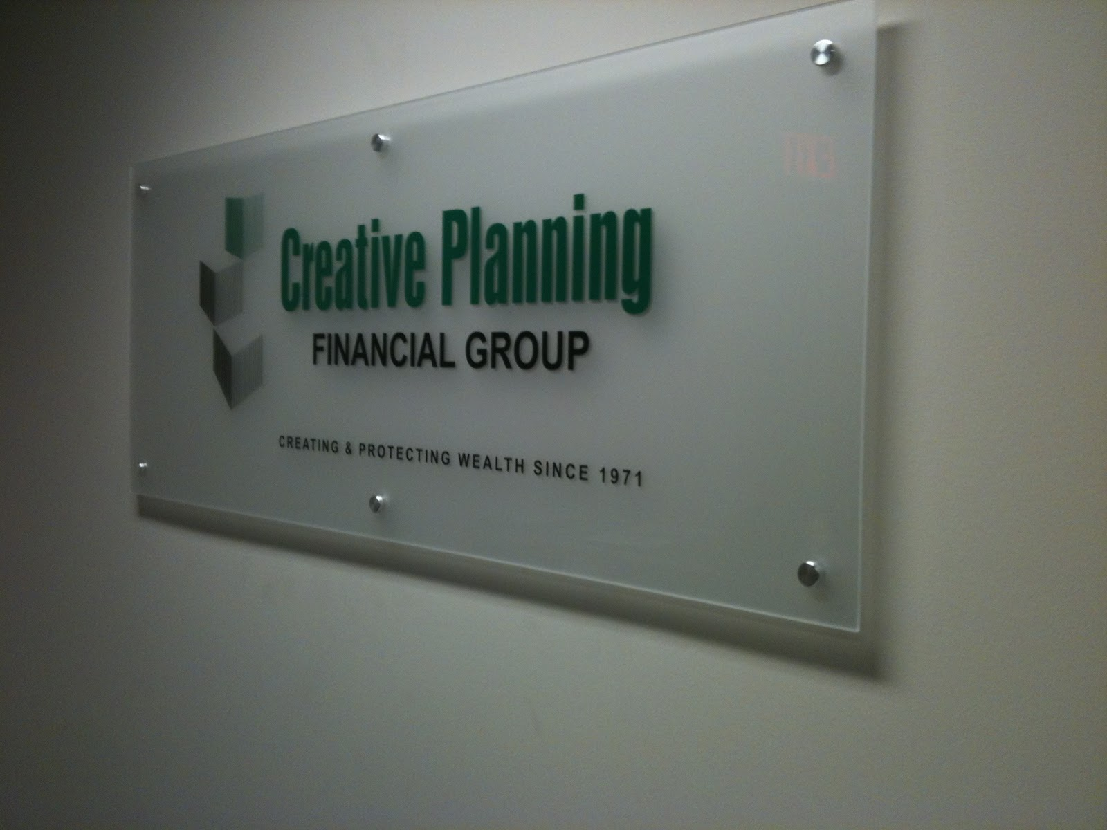 MacGraphics: Frosted Glass and Vinyl Letters