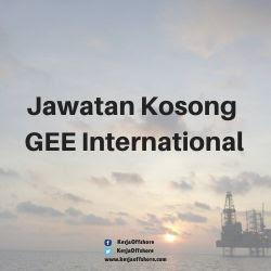 Jawatan Kosong GEE International