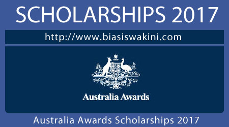 Australia Awards Scholarships 2017