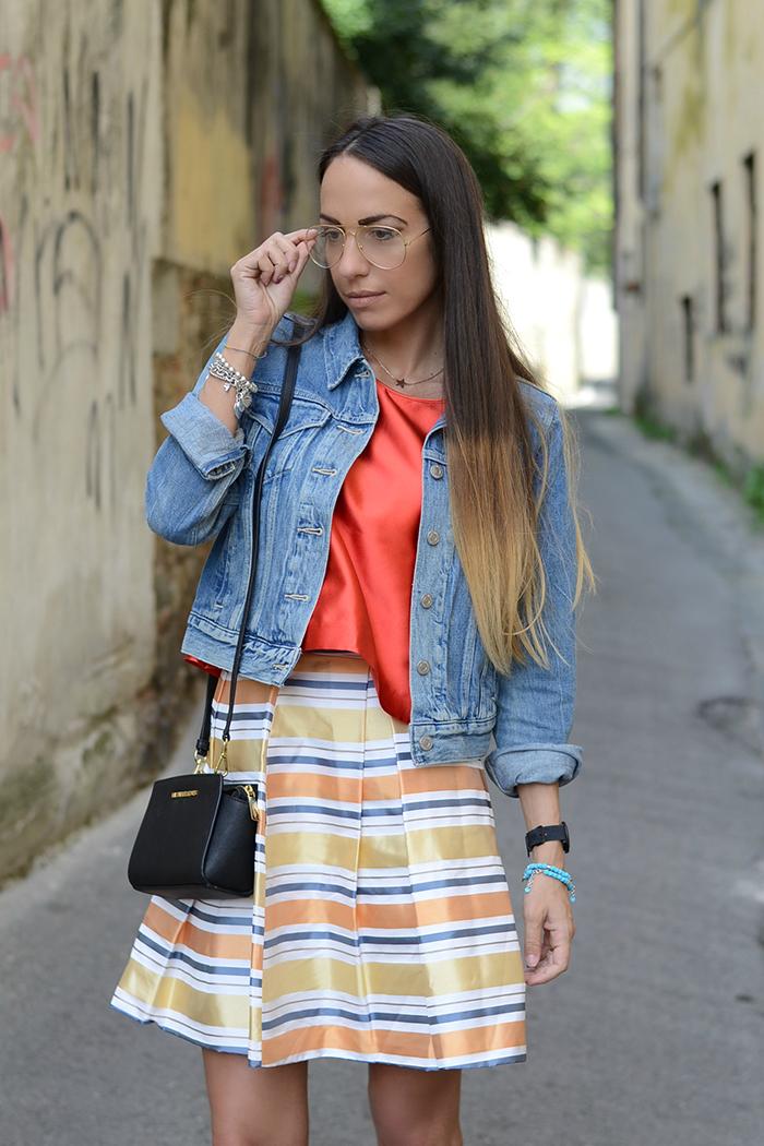 idea outfit arancione