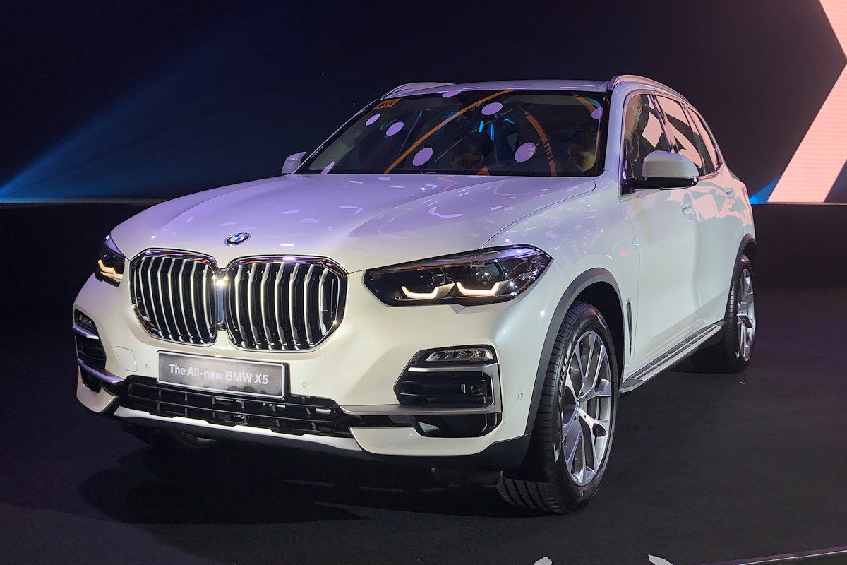 Bmw Philippines Launches All New 2019 X5 More Athletic More Tech