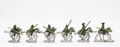 Thessalian Light Cav x 2 / Thessalian Hvy Cavalry x 2 / Greek Light Cavalry x 2: