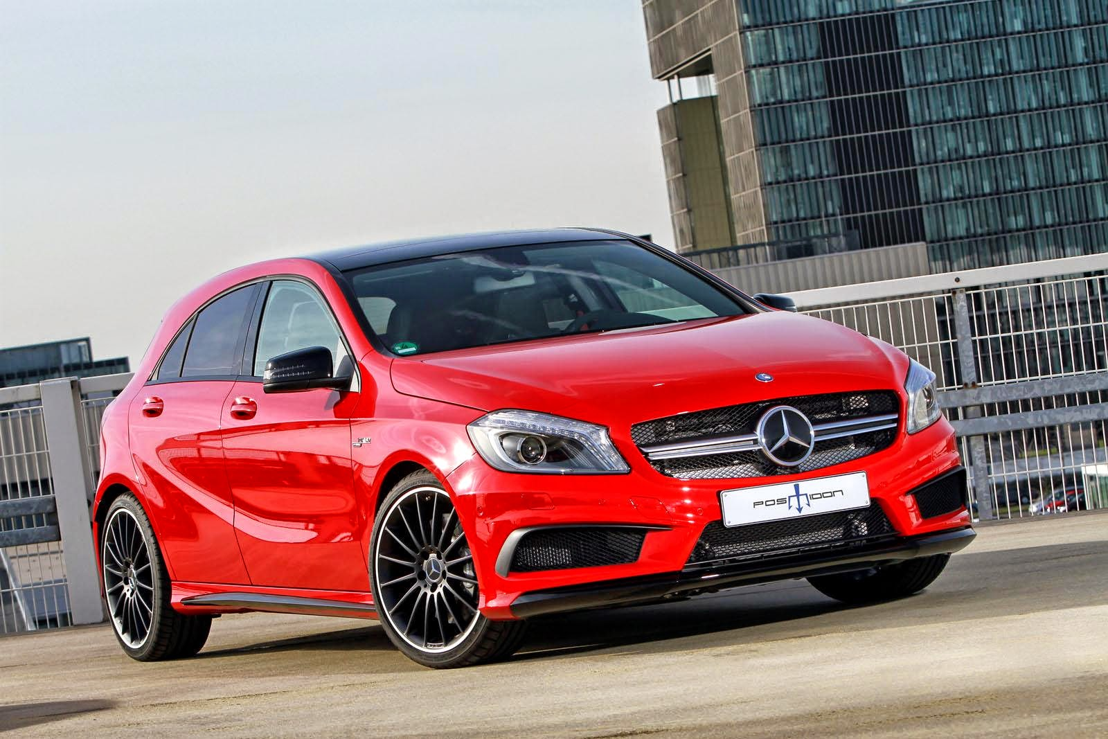 a45 amg tuning