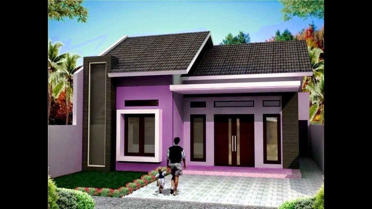 Warna Cat Rumah Minimalis 1 Lantai Sederhana Modern