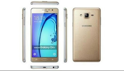 Samsung on 7 pro gold Android phone smartphone