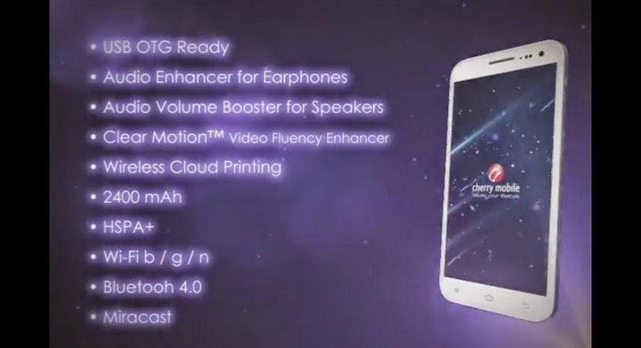 Rooting Cherry Mobile Cosmos 1 V5/V6   Screenshot 1