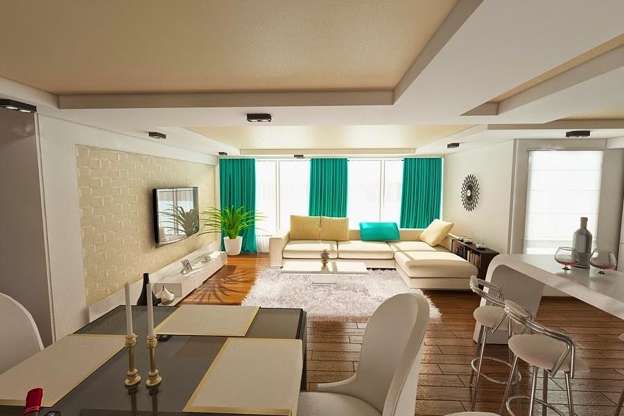 Design interior case stil clasic - Amenajare living modern Constanta.