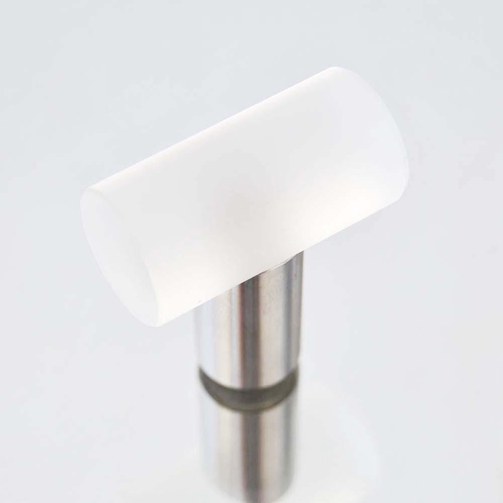 m belkn pfe aus glas und kristall design m belknopf mattiertes glas edelstahl 35mm. Black Bedroom Furniture Sets. Home Design Ideas
