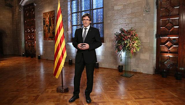 Глава Каталонии объявит о независимости автономии в ближайшие дни