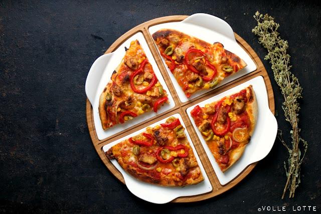 Blogparade, Villeroy & Boch, Pizza, Portugiesische Küche, Pizza Passion, einfach