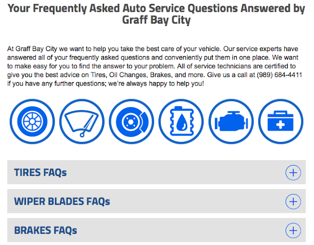 Your Service FAQs Answered by the Experts at Graff Bay City