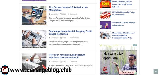 Iklan AdSense tampil di Blog Member Gold AdsOptimal, Alasan Kenapa AdsOptimal Tampilkan Iklan dari Google AdSense