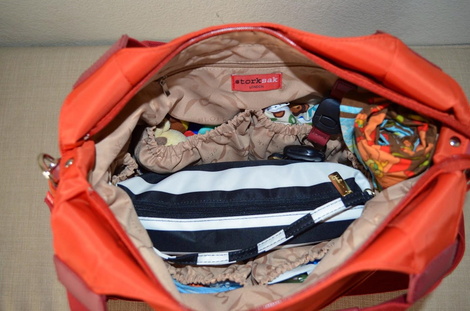 9fb6eae3c1c7 Poppins Approved  Storksak Tania Bee Diaper Bag