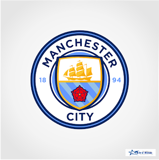 Manchester City Logo Vector cdr Free Download