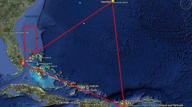 Ternyata Segitiga Bermuda Bukan Tempat Keluarnya Dajjal