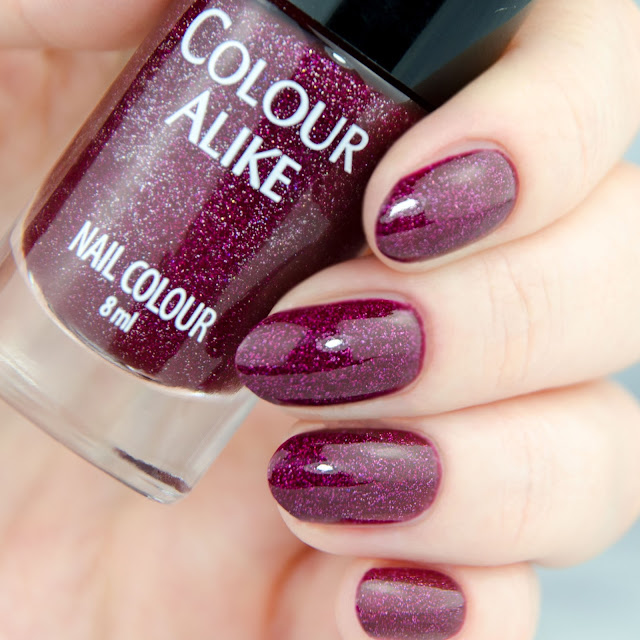 "Colour Alike ""Funny valentine"" swatch"