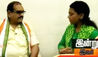 Indru Ivar: Peter Alphonse on joining Congress party again
