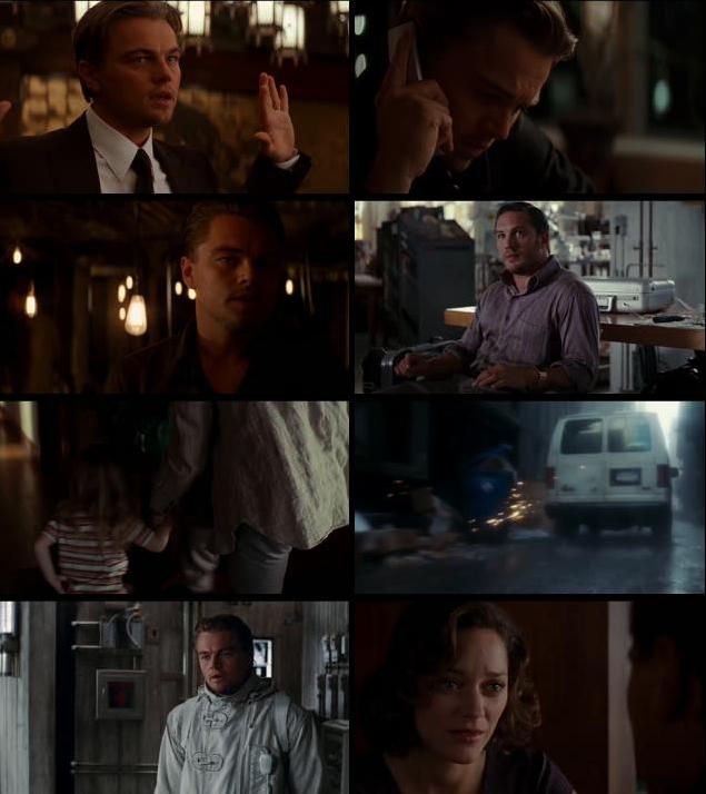 Inception 2010 Dual Audio Hindi 480p BluRay