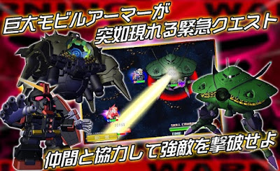 SD Gundam G Generation Frontier v2.22.0 Mod Apk ( High Attack Speed)