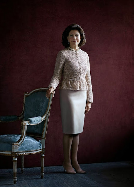 Queen Silvia on the occasion of  her 70th birthday.
